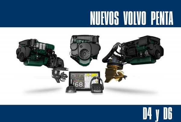 Volvo Penta D4 y D6 Mallorca