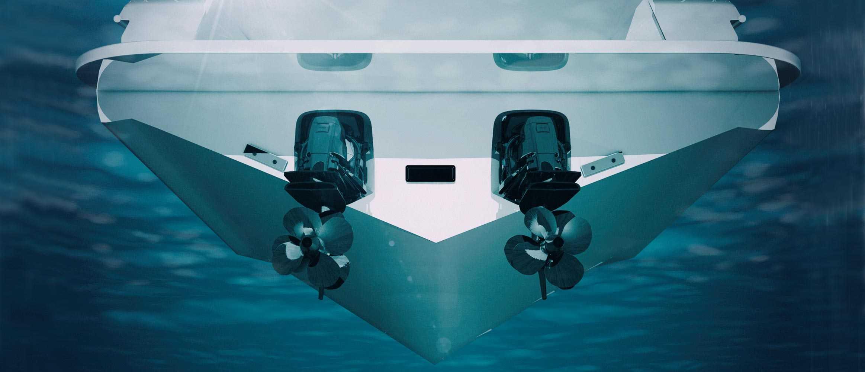 sistema de cola Aquamatic de Volvo Penta